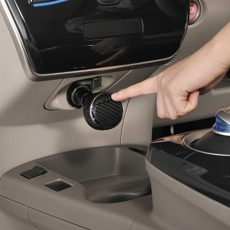 カーメイトSA110FMトランスミッターリモートBTリモート機能&充電ポート1.8A付高音質FMトランスミッター
