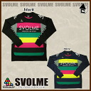 svolme カラフルボーダープラ shirt [soccer Futsal Prasat long sleeve q 123-67330