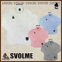 svolme Oxford shirt — soccer Futsal shirt long sleeves] 123-66112