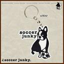 """Soccer Junky dog kimchi + 1 keychain """"soccer Futsal carabiner q SJ0374"""