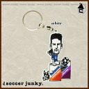"Soccer Junky FANTA? SIST keychain ""soccer Futsal carabiner q SJPK003"