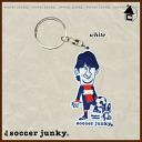 Soccer Junky magicaltouch Keychain [soccer Futsal carabiner q SJPK073