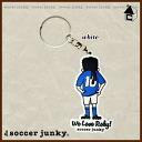 Soccer Junky Fantasista history key ring [soccer Futsal carabiner q SJPK077