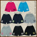 goleador back logo print プラパンツ G-864 (with Pocket) q Futsal-football practice pants?