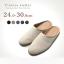 Firenze Atelier handmade slip-on leather mens shoes Florentine Atelier size exchange allowed canvas fabric beige black size: 24.0 cm to 30.0 cm
