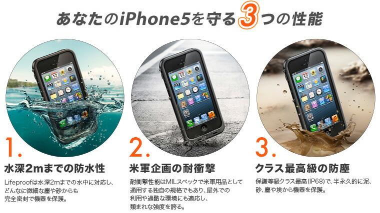 あなたのiphone5を守る3つの性能