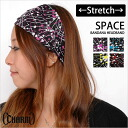 Headband triangle bandage headband bandana hat ウエアーカチューシャランニング charm