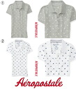 ウィメンズポロ shirt and Polka Dot Slub Polo