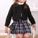 Children dress kids clothes formal sale neatly ♪ black Bolero 七五三, graduation, exams, entrance ceremonies Buddhist