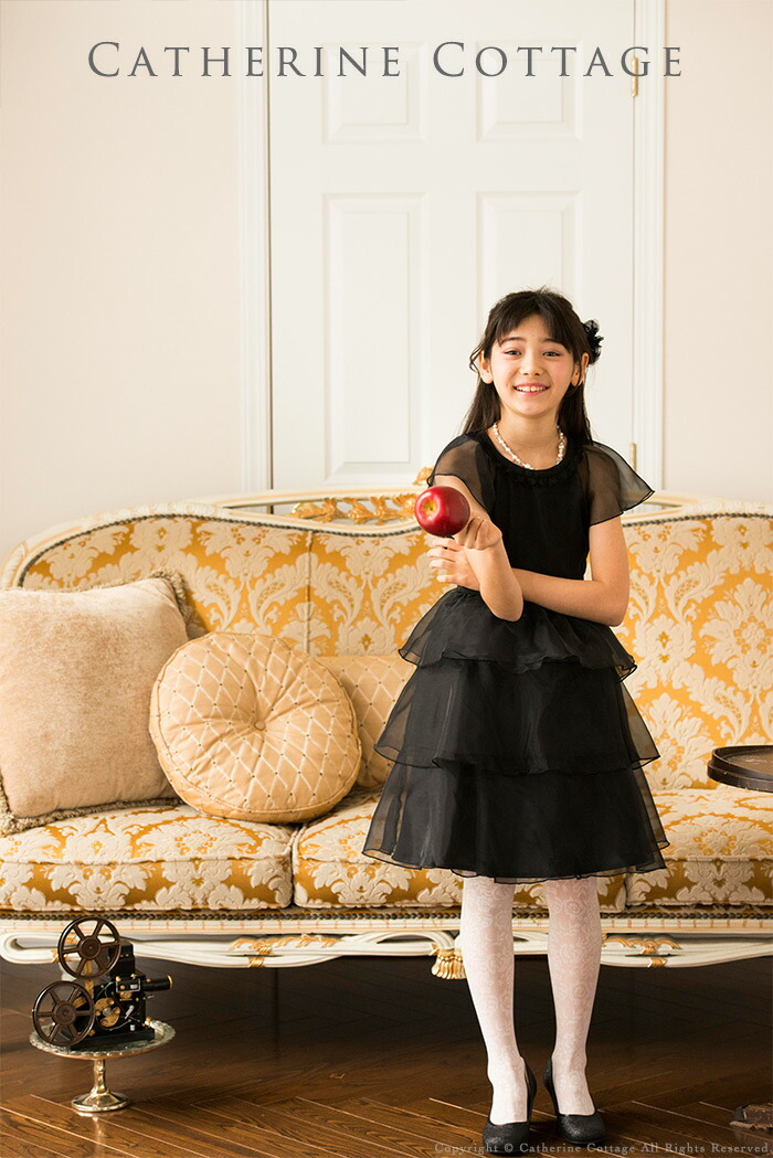 子供ドレス 発表会ドレス 黒