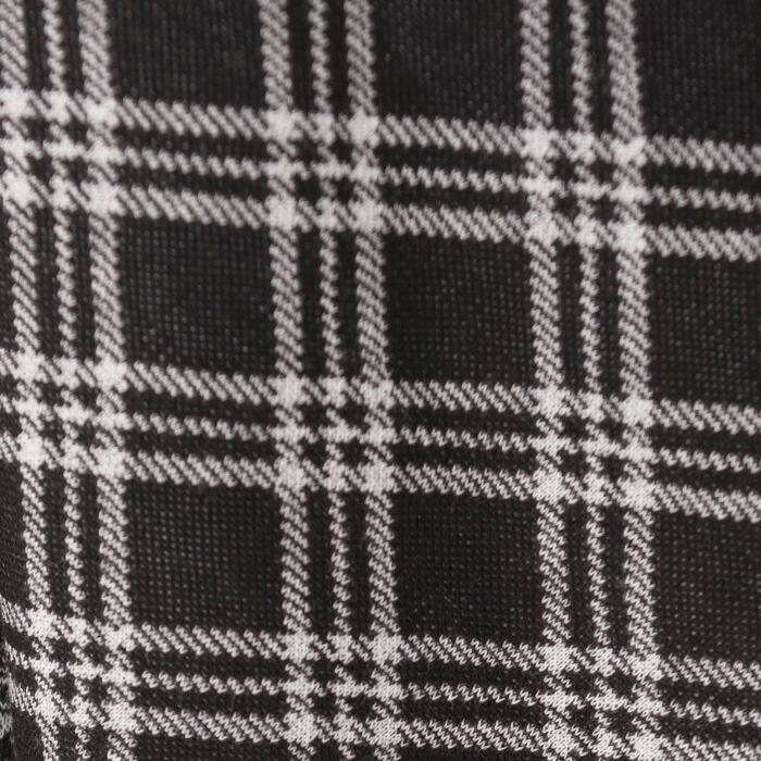 なんちゃって制服チェック柄スカート