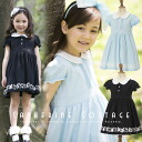 Short-sleeved puff sleeve one piece * ALLICEKOLLEKTION rabbit line * black blue light blue ceremonial occasion children's clothes kids [GSTS050911] of Alice