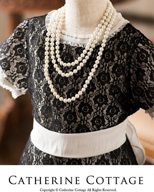 子供ドレス 女の子用 レース重ねフレアワンピース フォーマル ジュニア 発表会・結婚式に ホワイト 身頃