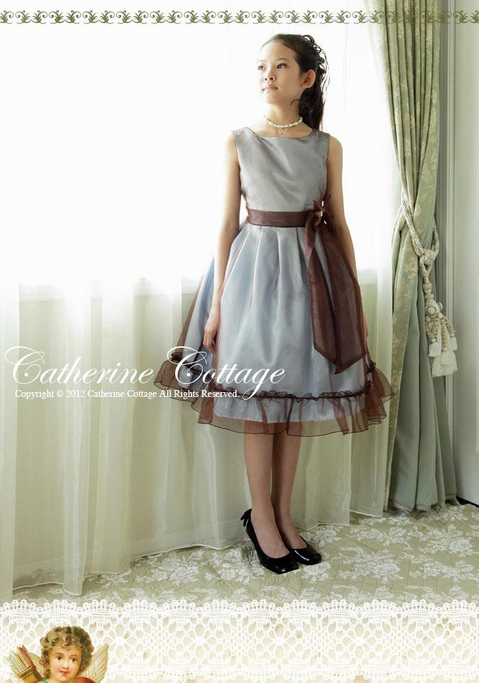 巻きバラ ドレス 子供ドレス
