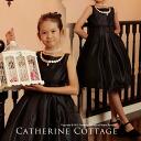 Child dress sale boat neck pearl embroidery one piece child dress child formal dress kids wedding ceremony presentation 753