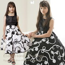 Monotone Ribbon Embroideru dress