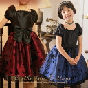 Children dress kids ローズフフロッキープリントワン piece kids dress children dresses kids wedding presentation of 七五三