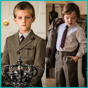Boys suit authentic expression United Kingdom country suit 4-piece set [shirt shorts and tie, jacket] Michelle Alfred 753 freshman graduation 80 90 100 110 120 130 cm child formal