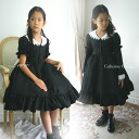 Sailor collar Black 2way dress