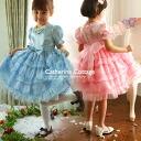 Children dress kids costume kids dresses organza tiered dress formal wedding presentation of 110 120 130 cm cheap Halloween