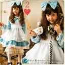 어린이 드레스 드레스 아이 드레스 옥색 앨리스 앞치마 드레스 의상 앨리스 의상 아이 옷 여 아 원피스 할로윈 11700 ⇒ 2999 엔