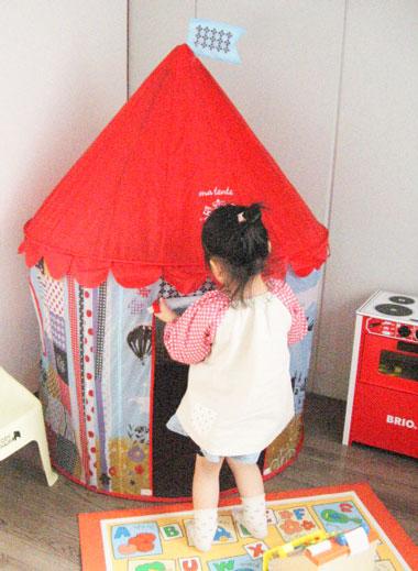 女の子プレゼント,おもちゃ,キャッスルテント,ジュリーテント,ボールテント
