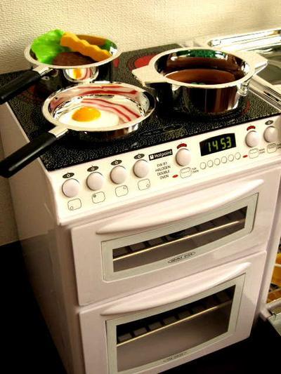 楽天,ままごと,ままごとキッチン,ままごとグッズ,ままごとセット,ちびっこママ,オーブン&コンロ,CASDON