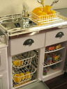 Like a real omamagoto CASDON ★ make-believe kitchen sink & refrigerator