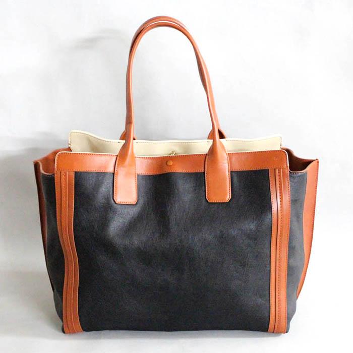 chloe hand bag - chloe bi-color alison tote, chloe buy online