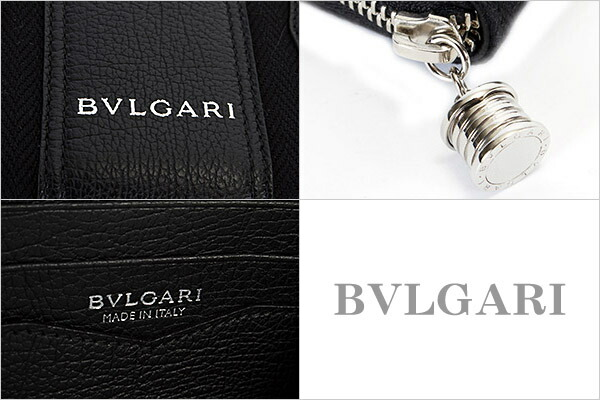 ブルガリ BVLGARI 財布 長財布 メンズ レディース B.ZERO1 ビーゼロワン ブラック 33776 BLACK
