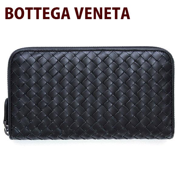 BOTTEGA VENETA ボッテガヴェネタ 財布 ボッテガベネタ 長財布 サイフ さいふ メンズ ラウンドファスナー 長財布 114076 V4651 1000
