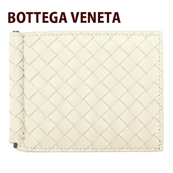 ボッテガヴェネタ BOTTEGA VENETA 財布 二つ折り財布 メンズ 二つ折り レザー 牛革 アイボリー 123180 V4651 1909