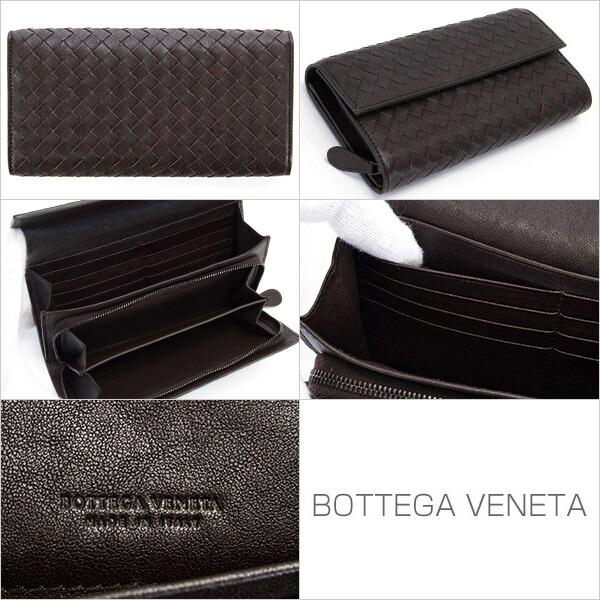 �ܥåƥ������ͥ� BOTTEGA VENETA ���� Ĺ���� ��� ��ǥ����� �����ץ�å��֥饦�� 150509 VX051 2006