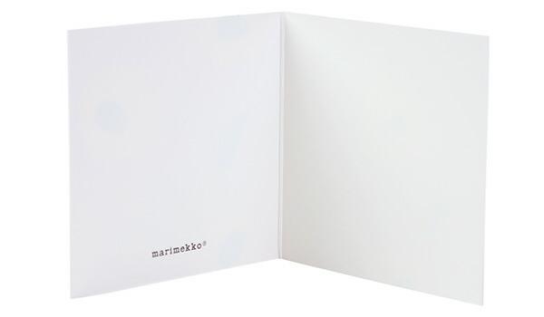 マリメッコ marimekko カード ギフトカード メッセージカード Gift Tags 北欧雑貨 フィンランド