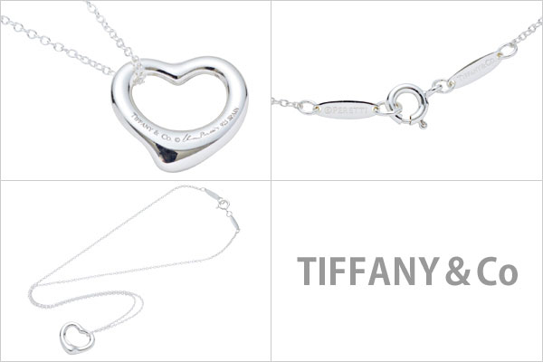 �ƥ��ե��ˡ� TIFFANY��Co �ͥå��쥹 ��ǥ����� �ڥ����� �����ץ�ϡ��� ����С� 10660092