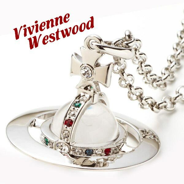 ヴィヴィアンウエストウッド Vivienne Westwood ネックレス メンズ レディース スモールオーブペンダント シルバー SMALL ORB PENDANT SILVER