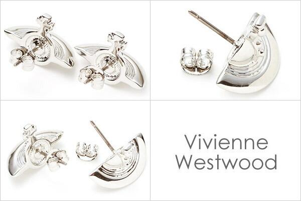 ヴィヴィアンウエストウッド Vivienne Westwood ピアス メンズ レディース ソリッドオーブイヤリング シルバー SOLID ORB EARRINGS SILVER