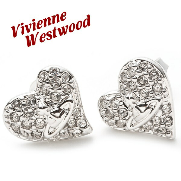 �����������󥦥����ȥ��å� Vivienne Westwood �ԥ��� ��ǥ����� ���������꡼ �����ˡ��ǥ����ޥ�ƥϡ��� TINY DIAMANTE HEART EARRINGS ����С� 0770/01/02