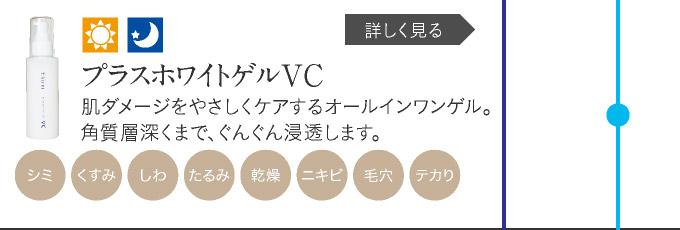 プラスホワイトゲルVC