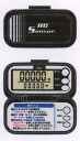 INTERLINKS ( Internet links ) high-performance acceleration sensor multi-function pedometer LH035B black