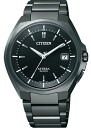!!! CITIZEN watch ATTESA atessa Eco-Drive radio watch Perfex with ATD53-3051 men's
