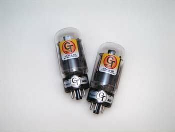 6L6GEパワー管、真空管