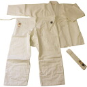 Beginners toward Aikido ringtone unread sarashi (ivory) tailoring, set of 3 (road wear-inseam-zone)