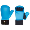 For karate fist supporters (1 pair) (red and blue) (goods) Japan karate Road Federation-test products