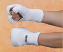 Knuckle supporters (1 pair) (white / black)