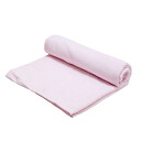 One piece of microfiber bath towel pink Kanto day convenience
