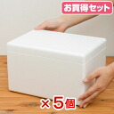 (W30 X D21 X H18cm) bargain five with the Styrofoam box (mini) TI-56V cover