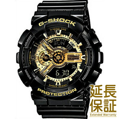【3年延長保証】CASIO カシオ 腕時計 GA-110GB-1AJF メンズ G-SHOCK ジーショック Black × Gold Series ブラック×ゴールドシリーズ
