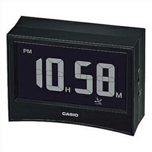 CASIO カシオ クロック DQD-S01J-1JF 電波 置時計 温度計 湿度計 ブラック 黒