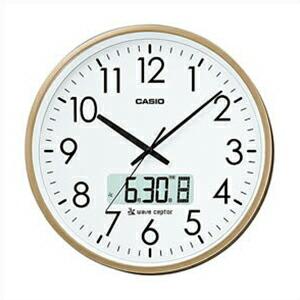 CASIO カシオ クロック IC-2100J-9JF 電波 掛時計